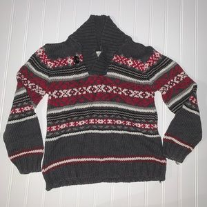 Knitted sweater small 5:6 *must bundle item